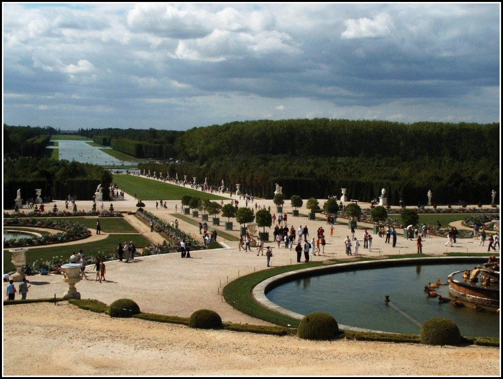 Schloss Versailles Gartenseite