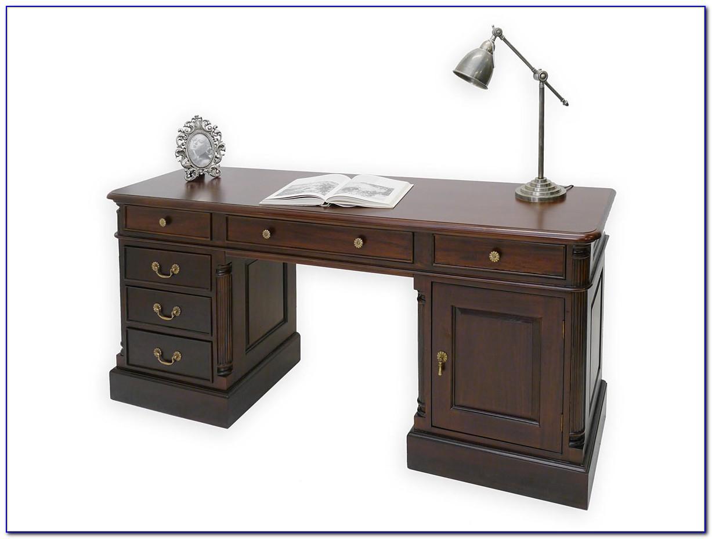 Schmaler Schreibtisch Schwarz