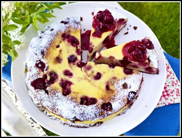 Schoko Kirsch Kuchen Kastenform