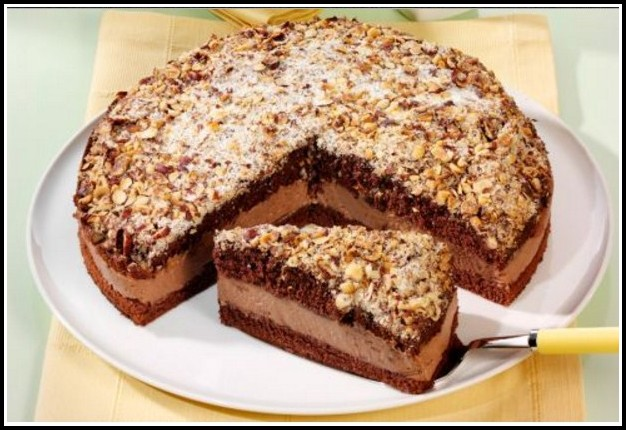 Schokoladen Haselnuss Kuchen Rezept