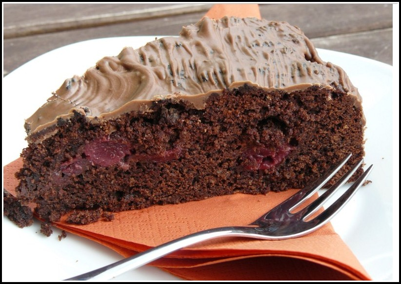 Schokoladen Kirsch Kuchen Dr. Oetker