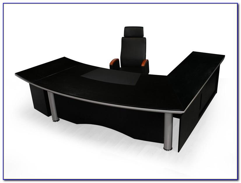 Schreibtisch über Eck Bauen
