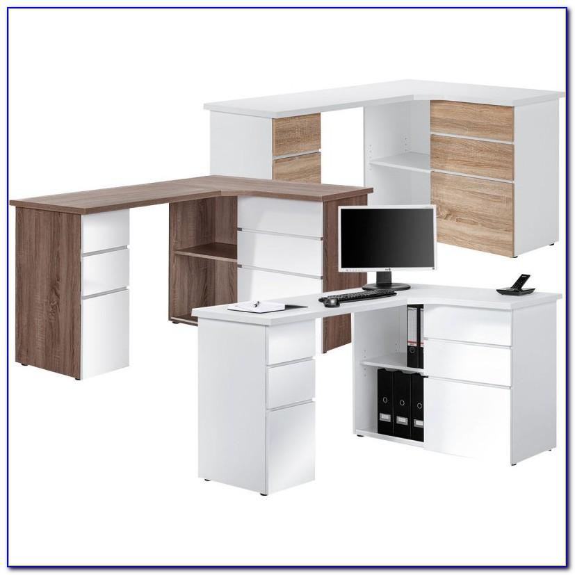 Schreibtisch über Eck Ikea