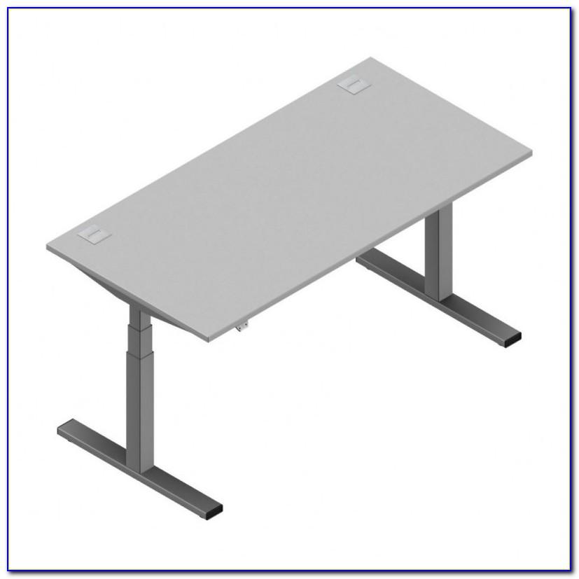 Schreibtisch 160x80 Grau