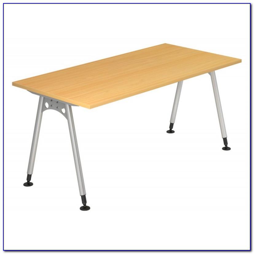 Schreibtisch 160×80 Weiß