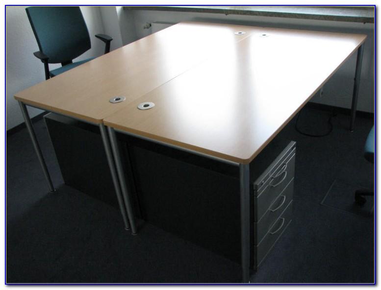 Schreibtisch 200×80 Schwarz