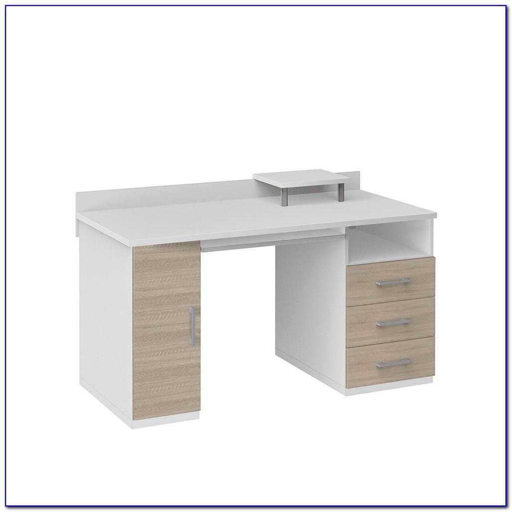 Schreibtisch 80 Cm Breit Weiß