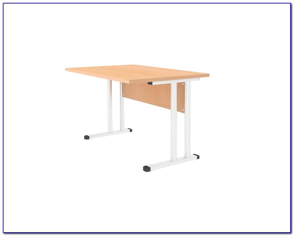 Schreibtisch Ahorn Nachbildung