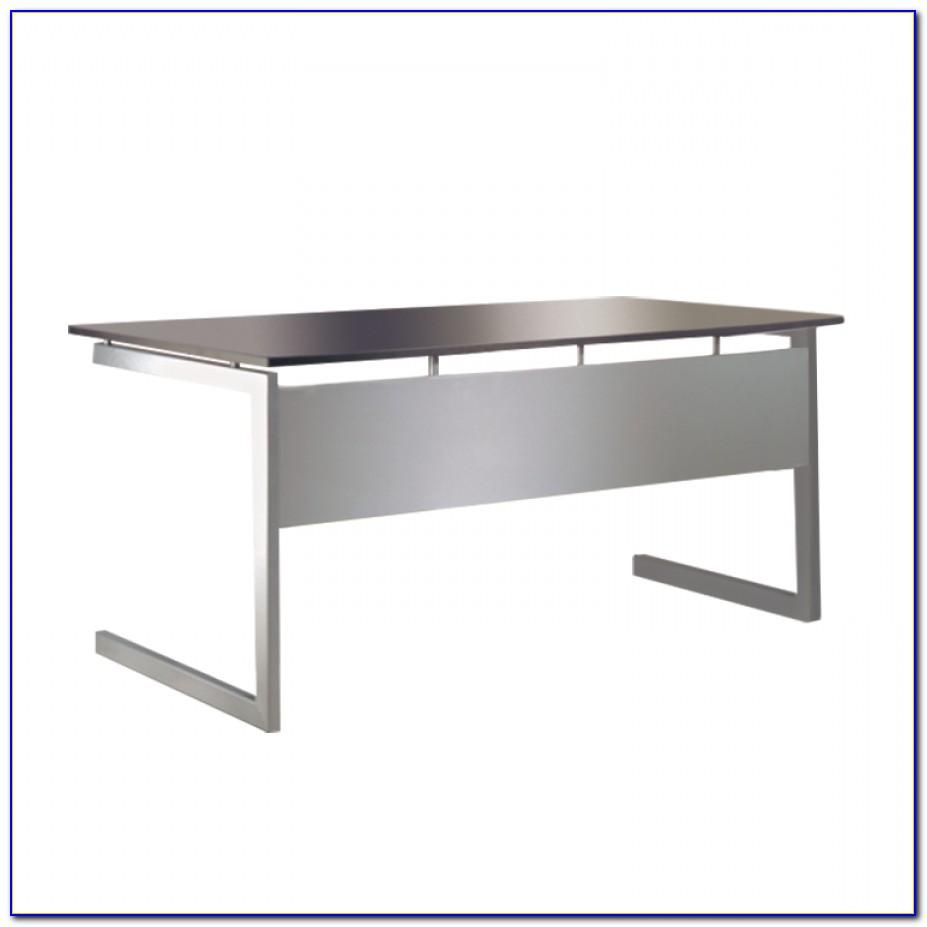 Schreibtisch Anthrazit Höhenverstellbar