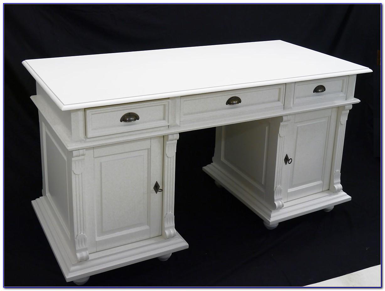 Schreibtisch Antik Weiß Ebay