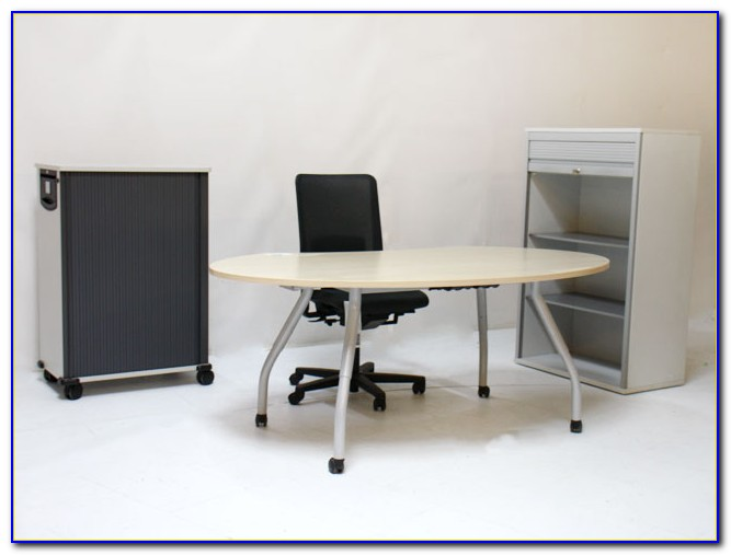 Schreibtisch Auf Rollen Möbel