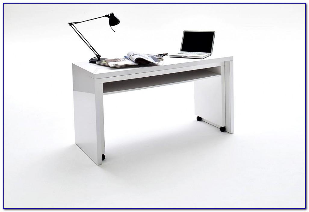 Schreibtisch Auf Rollen Selber Bauen