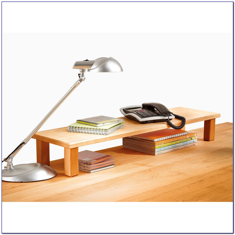 Schreibtisch Aufsatz Holz