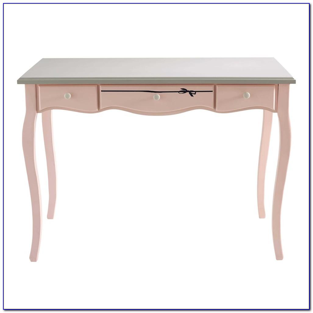 Schreibtisch Aus Holz Und Metall