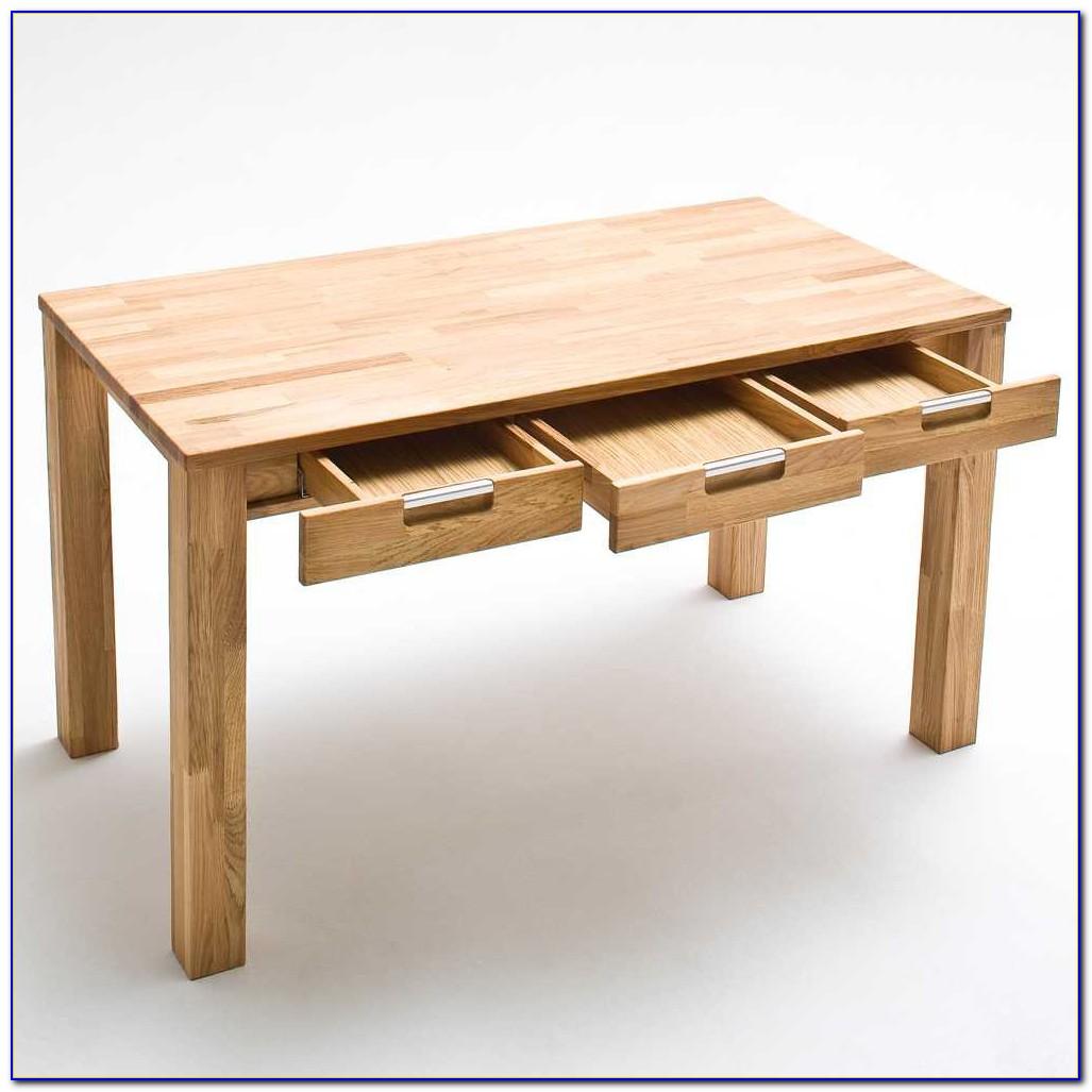 Schreibtisch Aus Massivholz