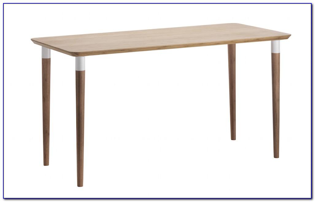 Schreibtisch Bambus Holz