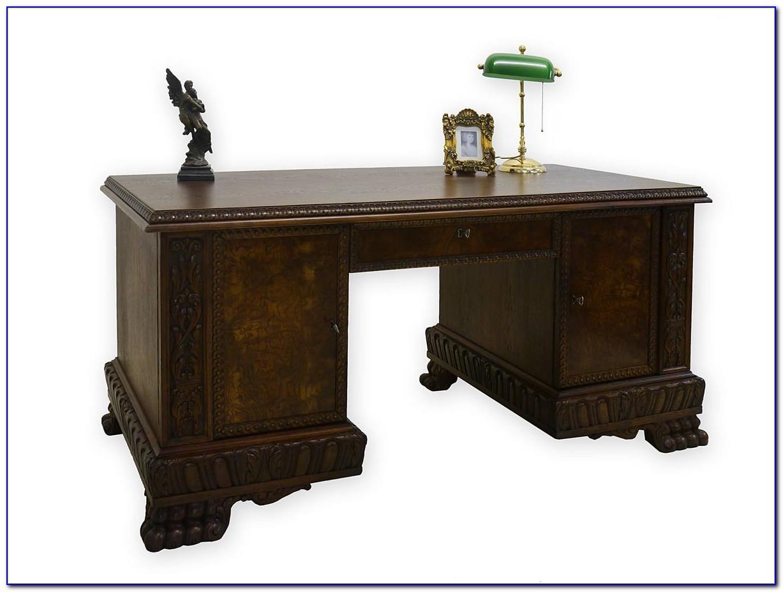 Schreibtisch Barock Stil