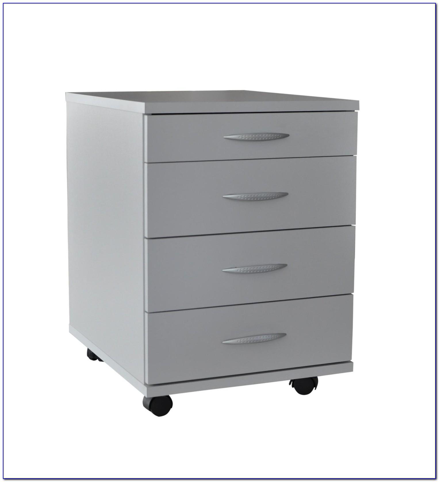 Schreibtisch Container Abschließbar
