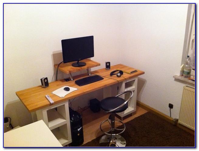 Schreibtisch Echtholz Buche