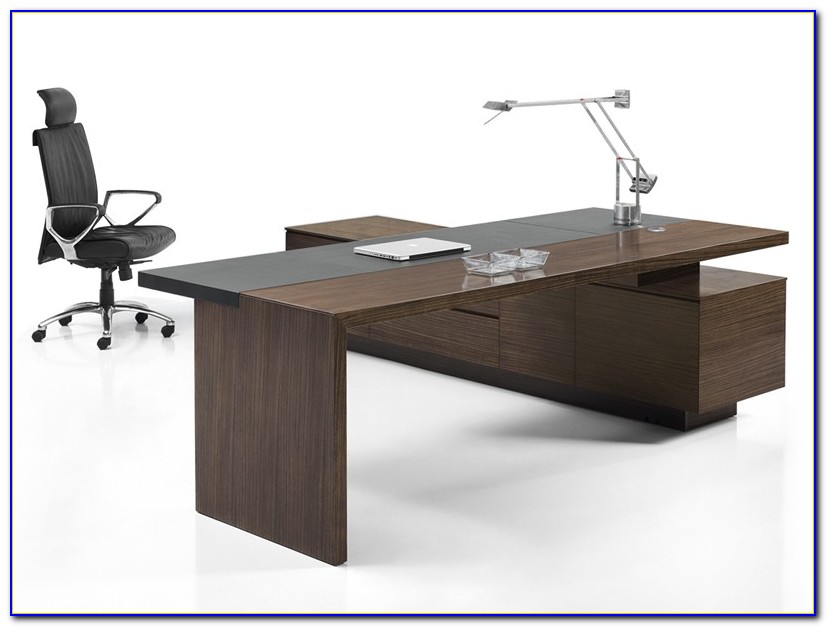 Schreibtisch Echtholz Weiß