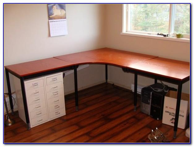 Schreibtisch Ecke Weiß