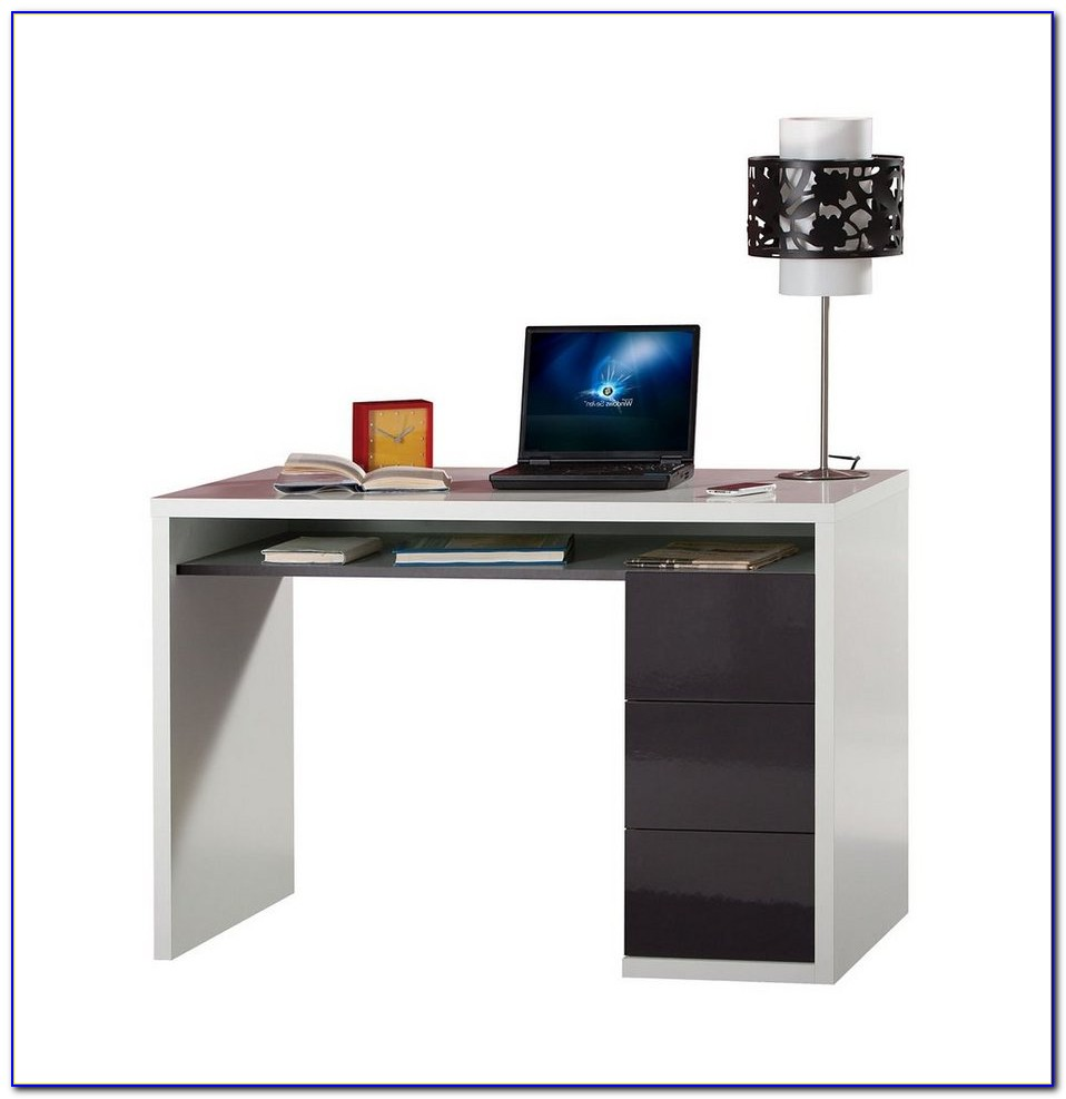 Schreibtisch Eiche Anthrazit