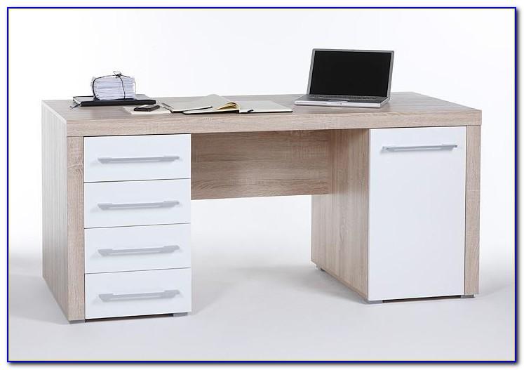 Schreibtisch Eiche Rustikal