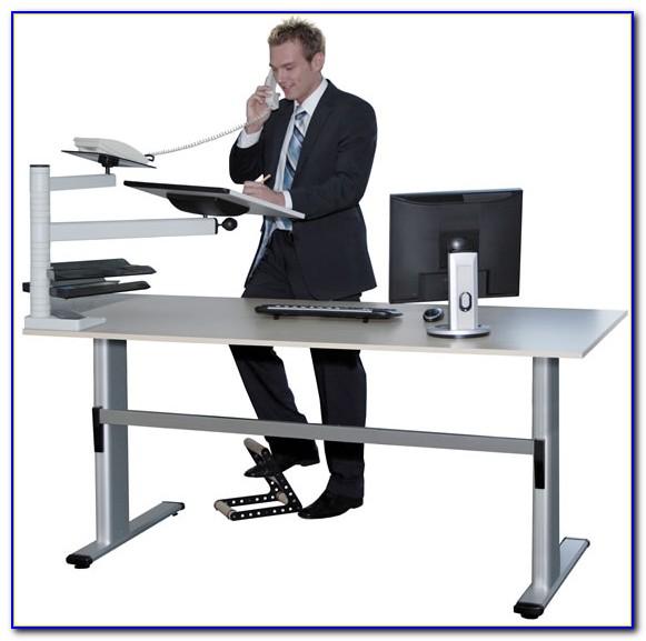 Schreibtisch Ergonomie Höhe