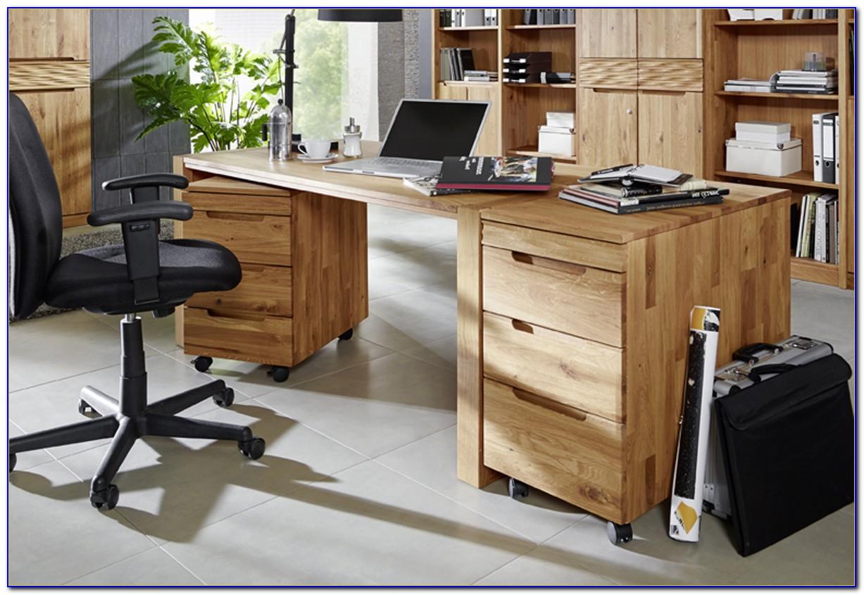 Schreibtisch Erle Massiv Geölt