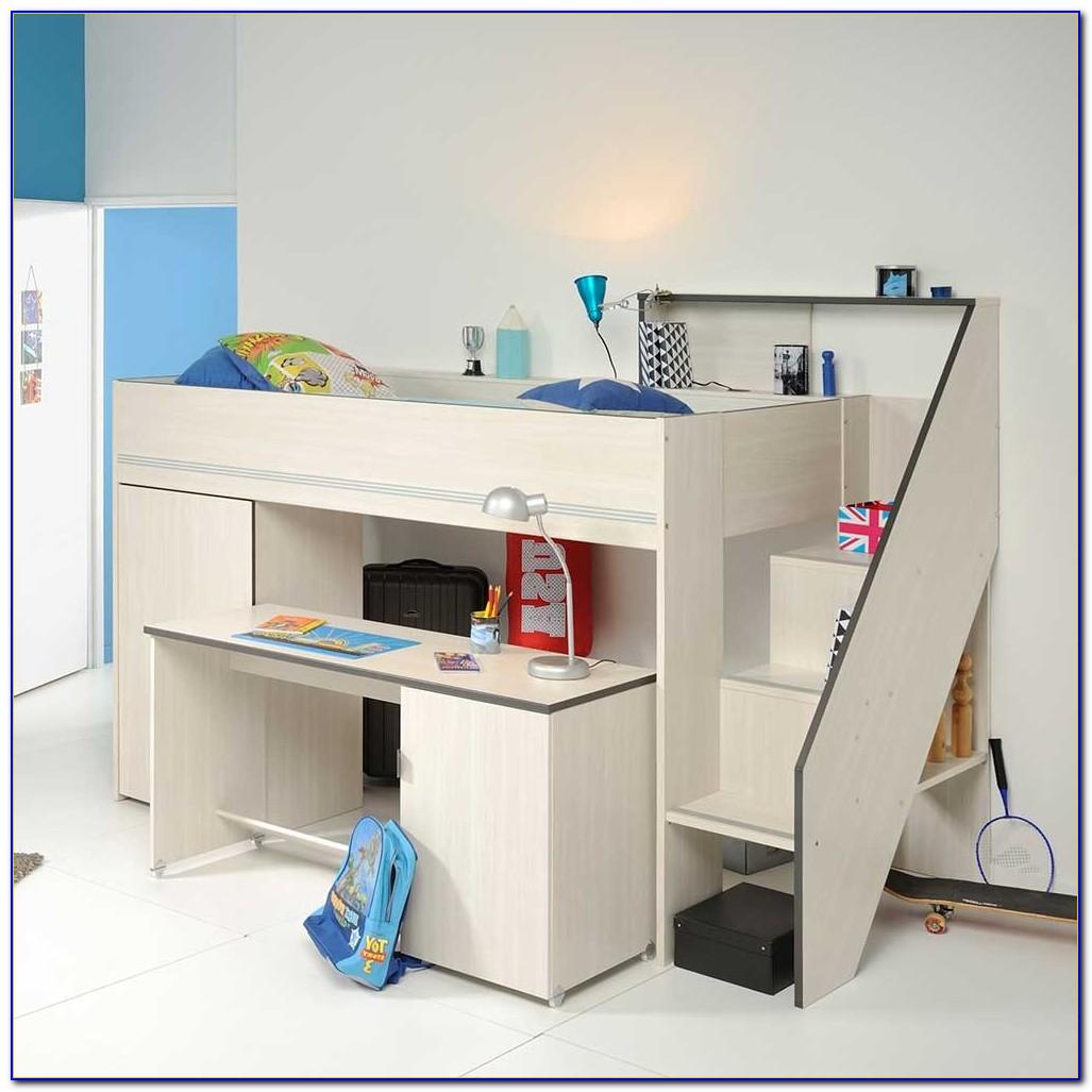 Schreibtisch Esche Dunkel