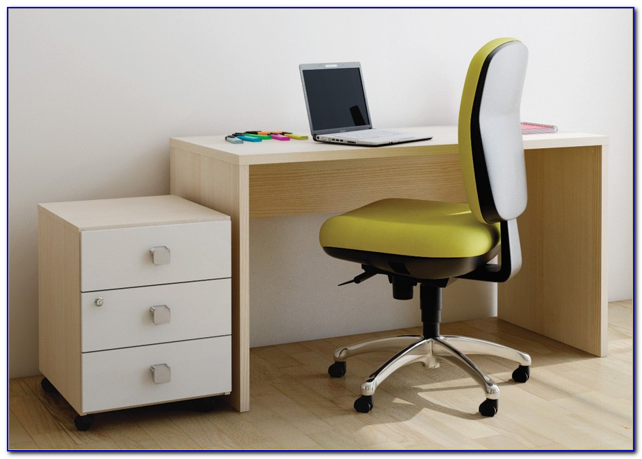 Schreibtisch Esche Hell