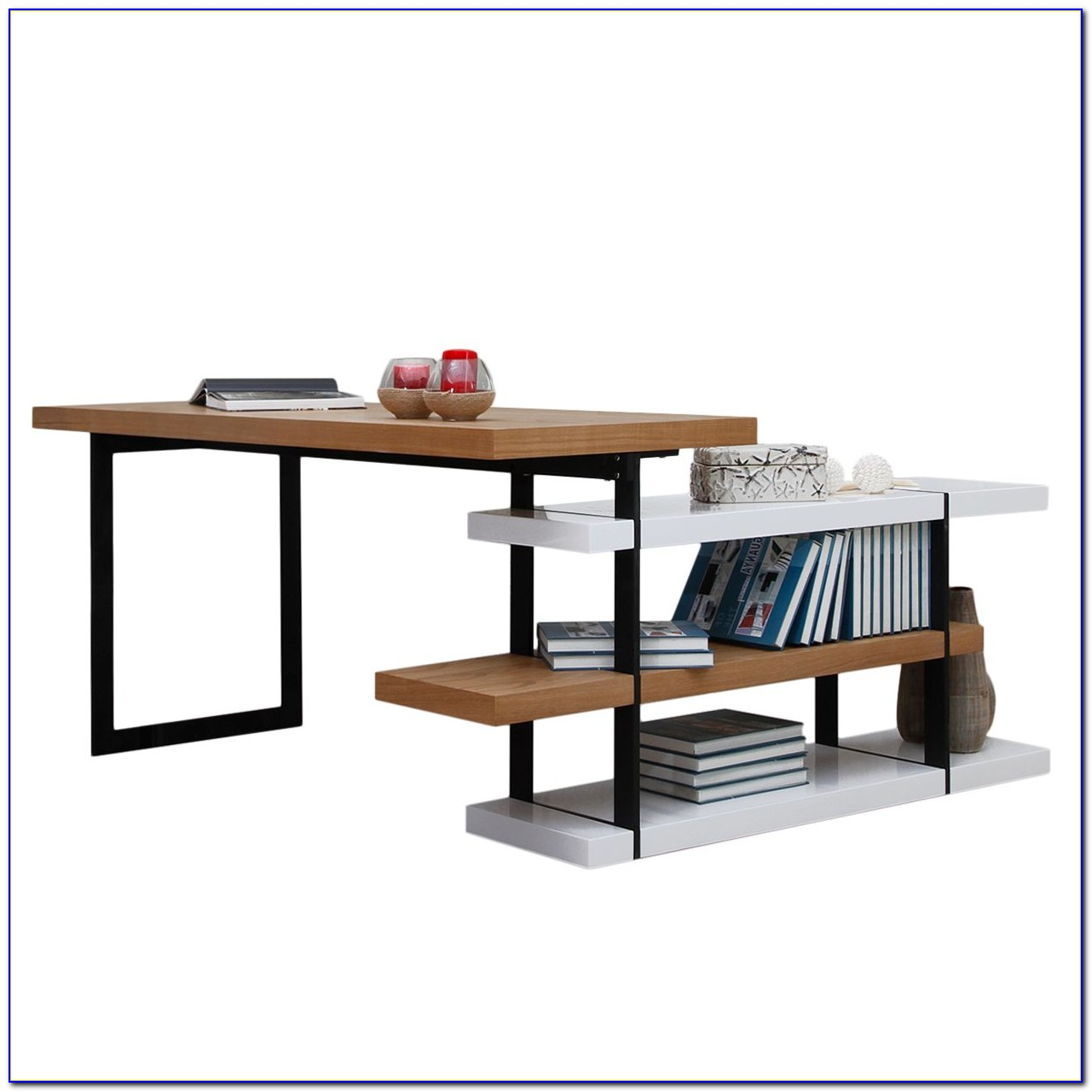 Schreibtisch Esche Massiv