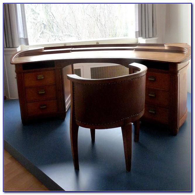 Schreibtisch Esche Weiß