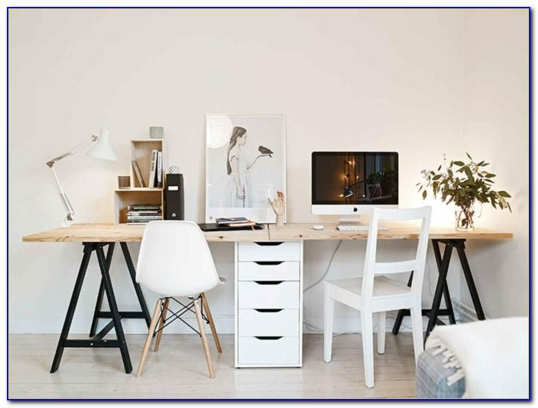 Schreibtisch Für 2 Personen Selber Bauen