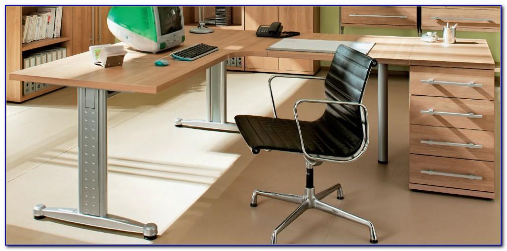 Schreibtisch Farbe Noce
