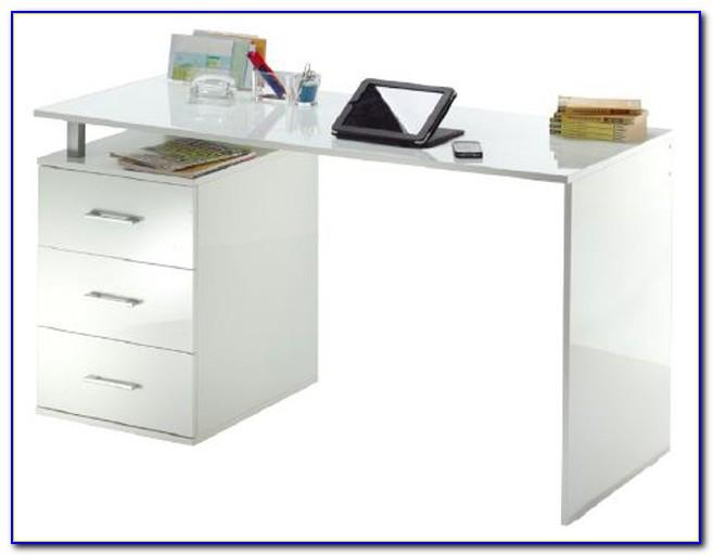 Schreibtisch Galant Weiß Ikea