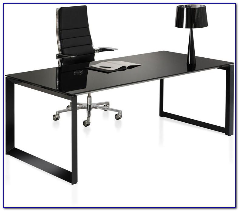 Schreibtisch Glas Design