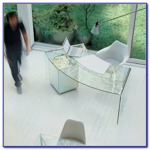 Schreibtisch Glas Designermöbel