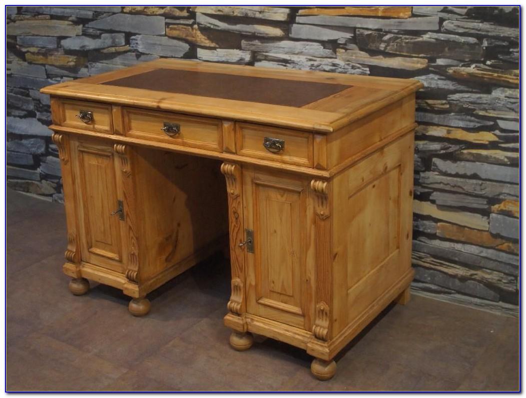 Schreibtisch Gründerzeit Eiche