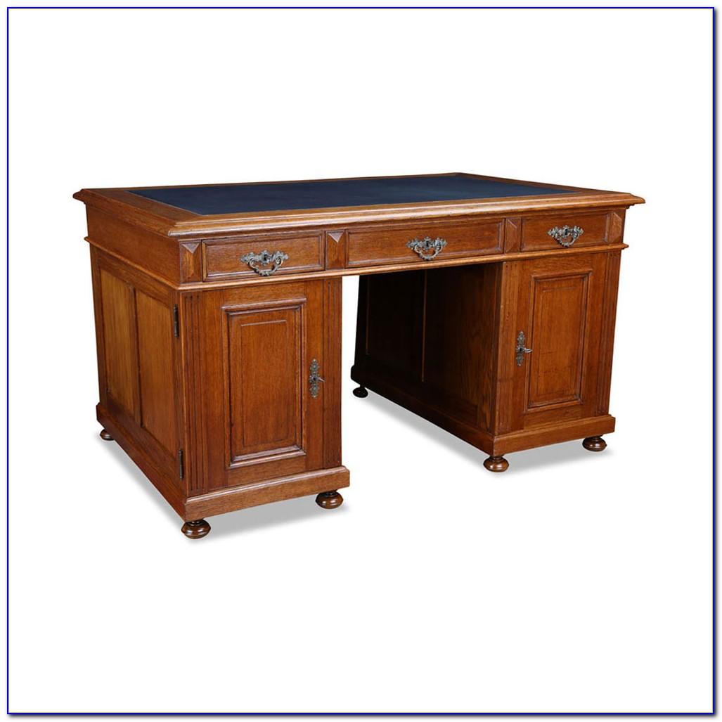 Schreibtisch Gründerzeit Schwarz