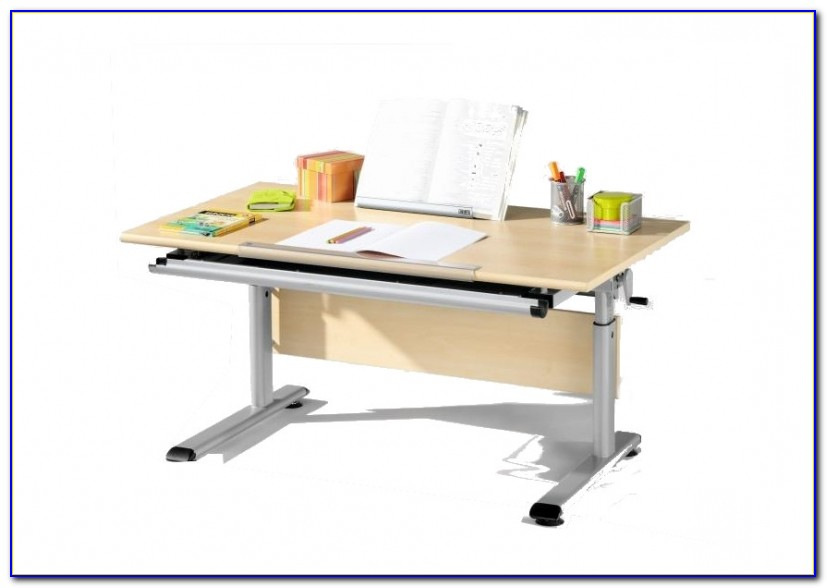 Schreibtisch Groß Weiß