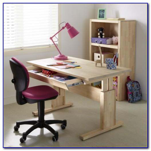 Schreibtisch Höhenverstellbar Kinder Holz