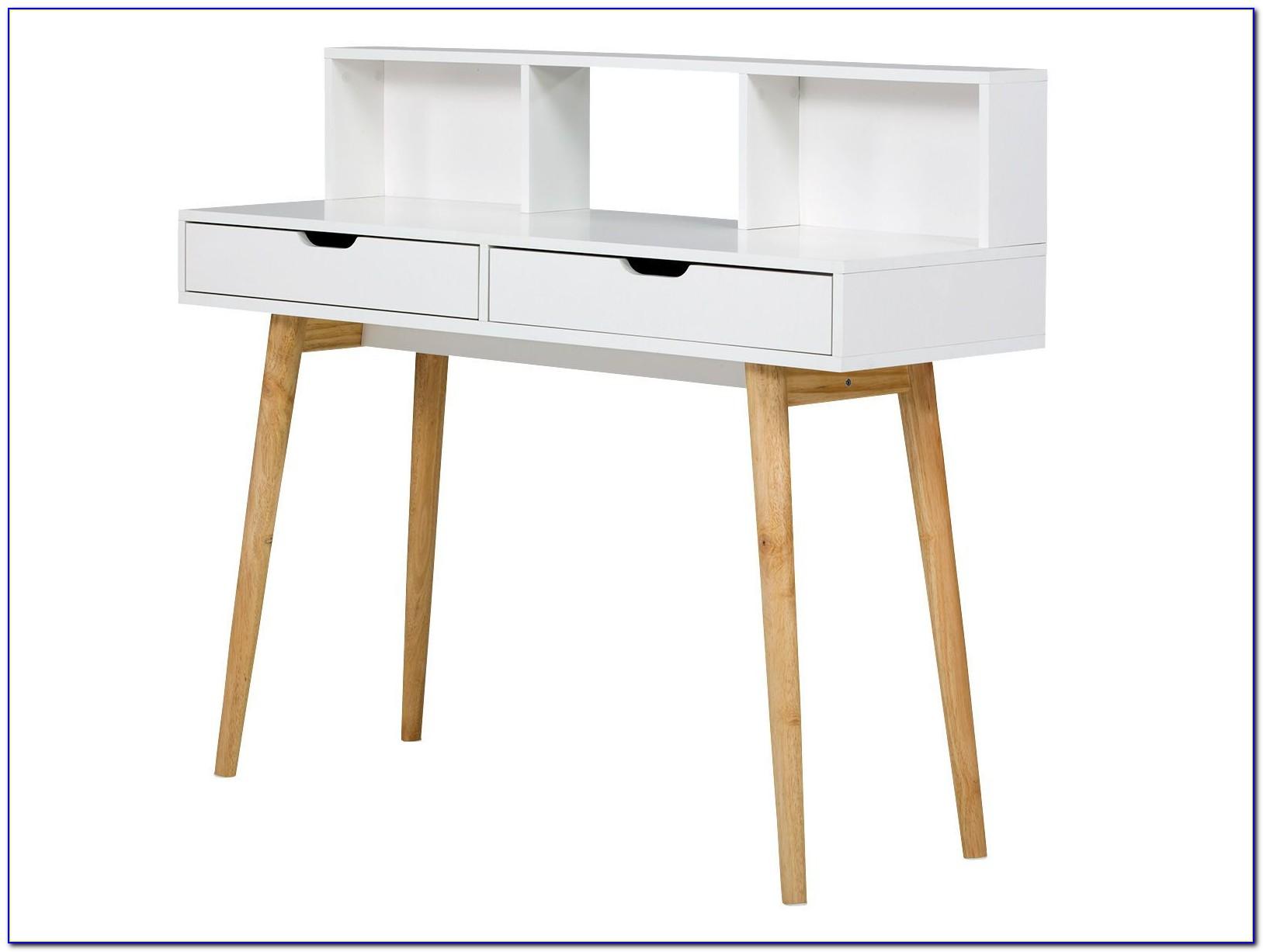Schreibtisch Holz 120 Cm
