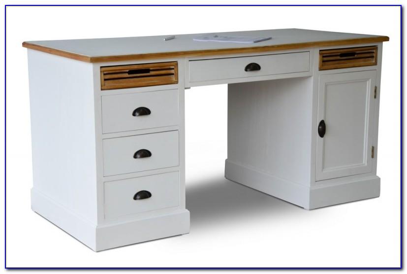 Schreibtisch Holz Antik