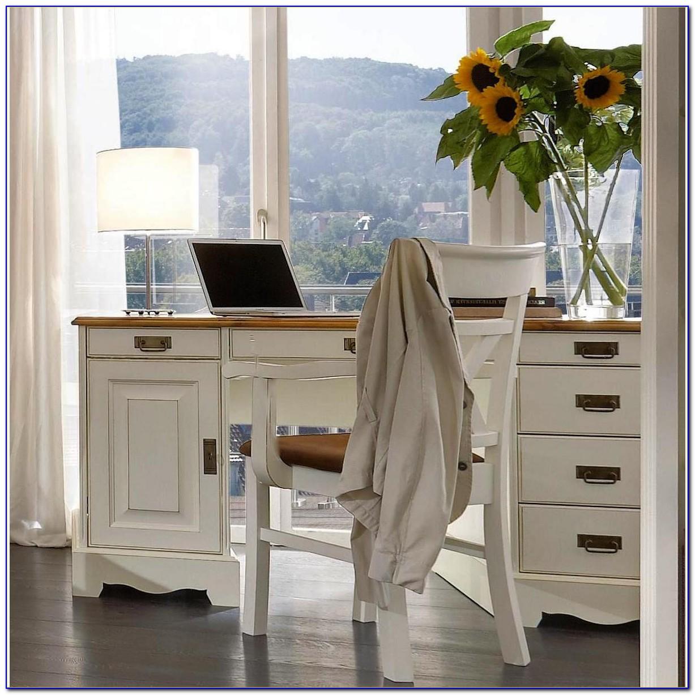 Schreibtisch Holz Massiv Modern