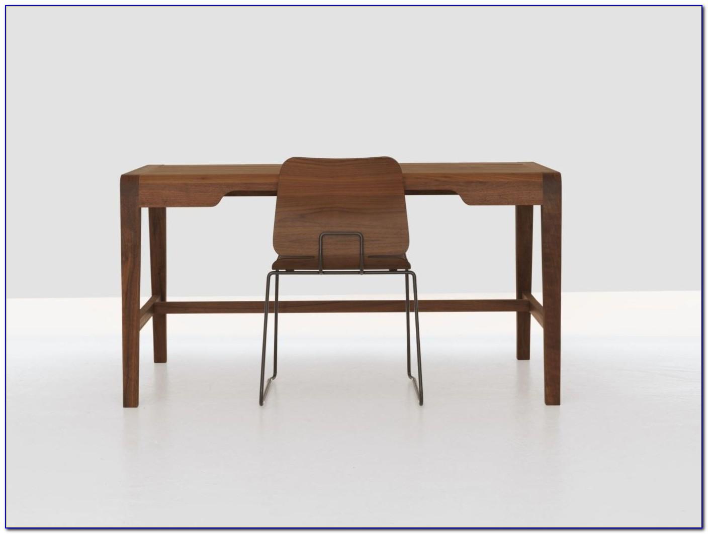 Schreibtisch Holz Metall