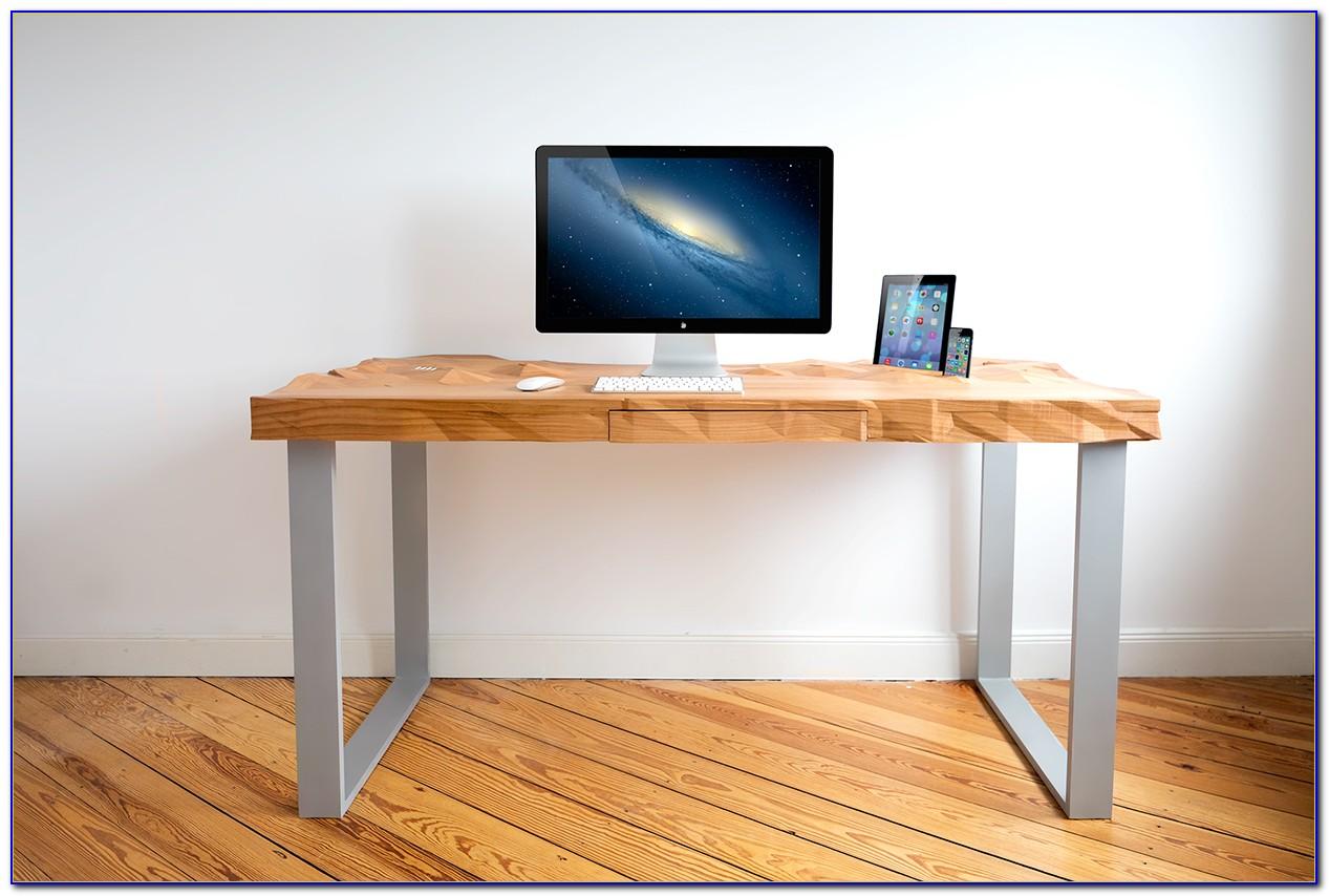 Schreibtisch Holz Modern