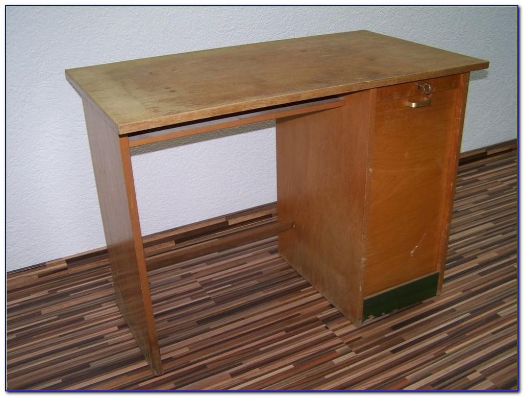 Schreibtisch Holzplatte