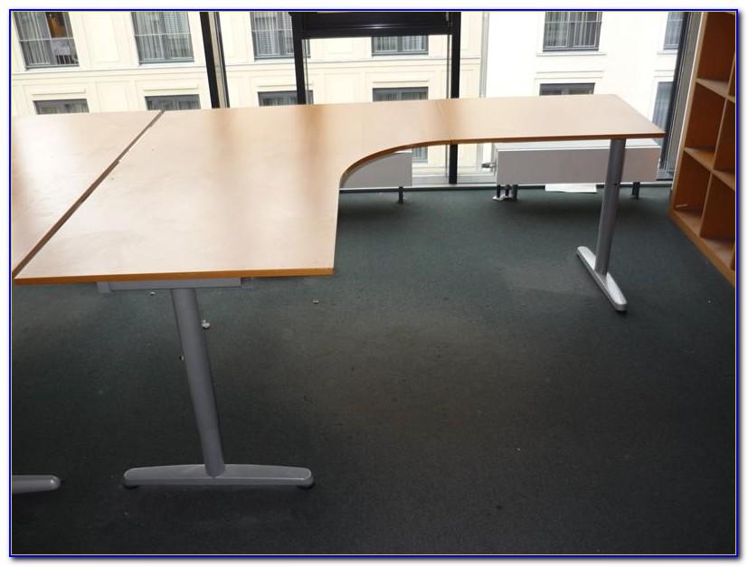 Schreibtisch Ikea Galant Birke