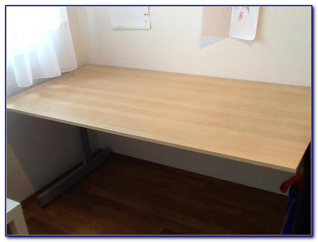 Schreibtisch Ikea Galant Weiß